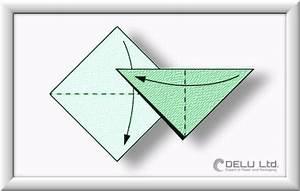 Origami Kranich Anleitung : anleitung um einen wundersch nen origami kranich zu falten delu ltd feinste papierprodukte ~ Frokenaadalensverden.com Haus und Dekorationen