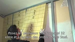 Isolation Mur Intérieur : isoler les murs ext rieurs par l 39 int rieur youtube ~ Melissatoandfro.com Idées de Décoration
