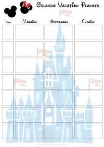 Free Printable Disney World Vacation Planner