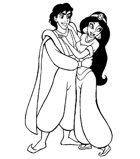 jasmine coloring pages  print coloring home