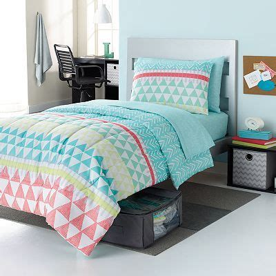 kohls xl bedding simple by design elaina tribal 9 pc reversible bed