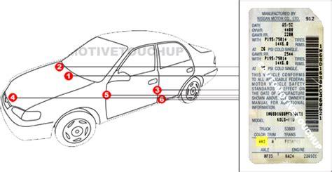 nissan paint code wko nissan touch up paint automotivetouchup