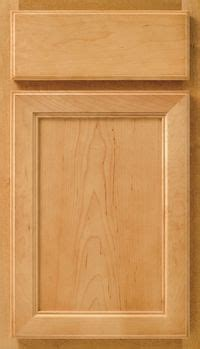 ayden 5 piece rustic birch raised panel cabinet door in