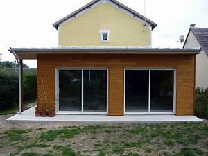 Cout Extension Bois : une maison ou une extension en ossature bois notes de styles le blog ~ Nature-et-papiers.com Idées de Décoration