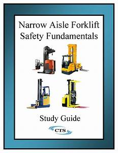 Narrow Aisle Forklift Study Guide  5 Pack   U2013 Certified
