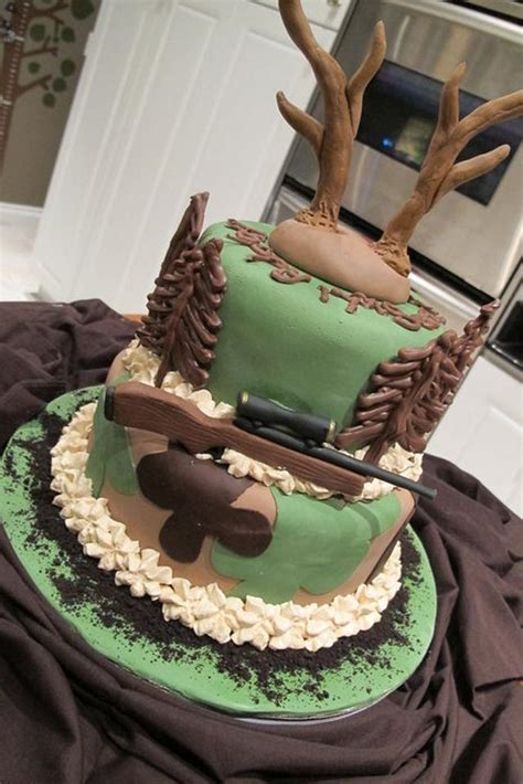 ther great deer hunter cake  sharon cakesdecor