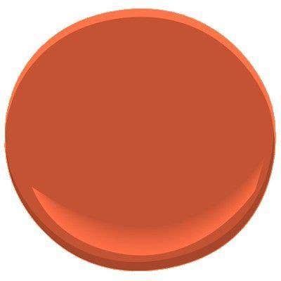 benjamin moore fireball orange 2170 10 the perfect
