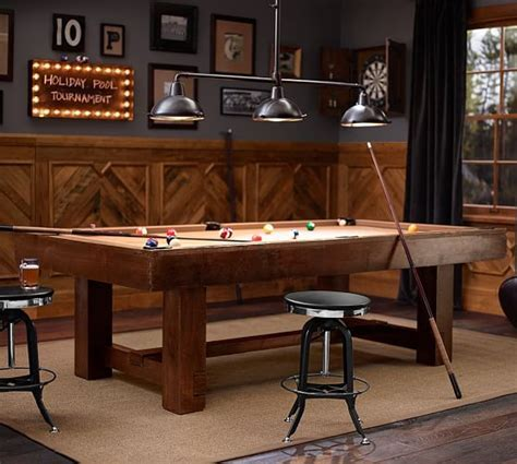 Pottery Barn Pool Table   Pottery Barn