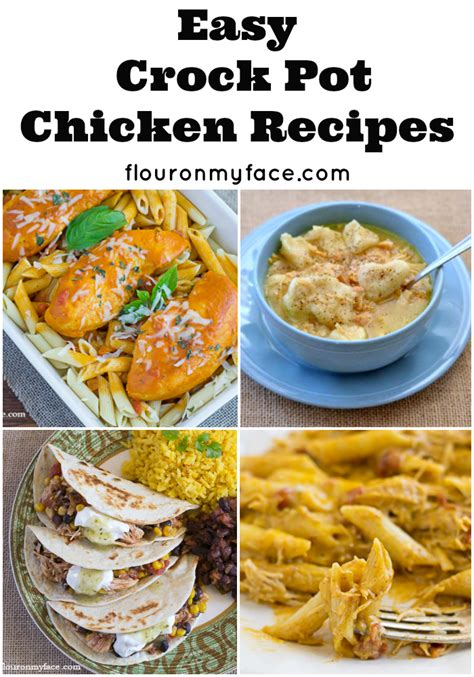 easy crockpot chicken recipes chicken recipes crockpot
