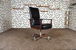 Fauteuil Bureau Scandinave : fauteuil de bureau scandinave en palissandre de rio arne vodder vintage 1960 ~ Teatrodelosmanantiales.com Idées de Décoration