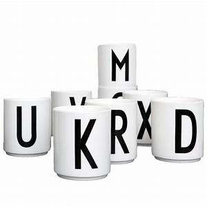 design letters alphabet cup a z klevering With design letters cup