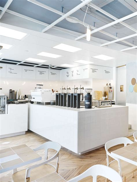 Minimalist Bar Design by Laboratory Inspired Minimalist Coffee Bar Spaces