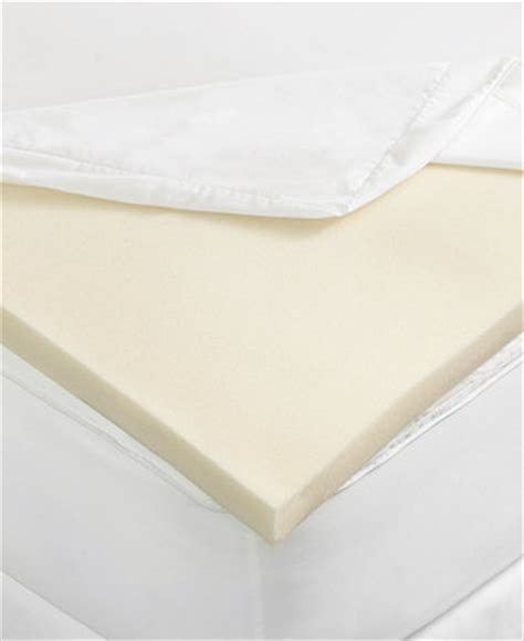 macys memory foam mattress topper closeout martha stewart collection 2 quot memory foam