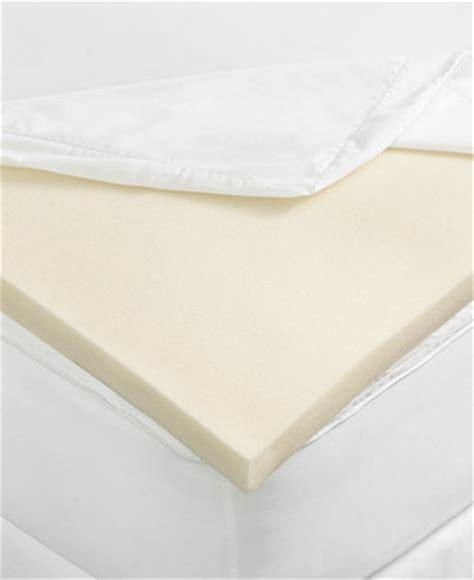macys mattress topper closeout martha stewart collection 2 quot memory foam