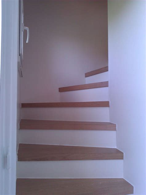 apres travaux escalier r 233 novation marches peinture