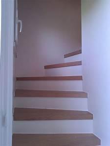 peinture mur escalier dootdadoocom idees de With peindre escalier bois en blanc 2 relookage escaliers atelier couleur et bois
