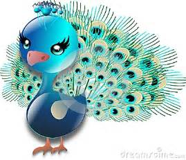 Cute Peacock Clip Art