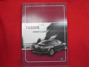 Purchase 2012 Ford Fusion Owners Manual Guide Book