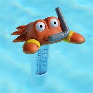 Thermometre De Piscine : thermometre piscine animals craby la boutique desjoyaux ~ Carolinahurricanesstore.com Idées de Décoration