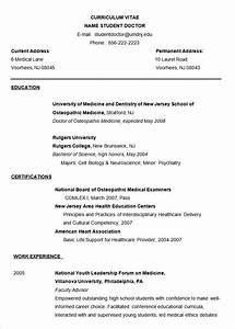 Microsoft word resume template 49 free samples for Doctor resume template