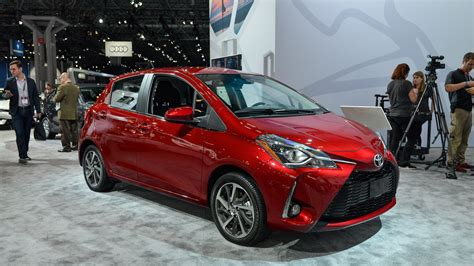 York Toyota by 2018 Toyota Yaris Shows Updated Looks In New York