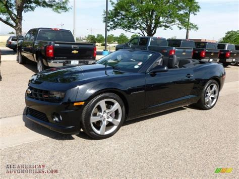 Black Convertible Camaro by 2011 Chevrolet Camaro Ss Rs Convertible In Black 186027