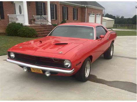 1970 For Sale by 1970 Plymouth Barracuda For Sale Classiccars Cc 903739