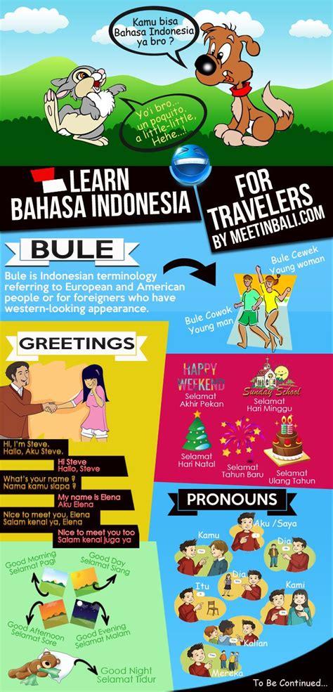 pin  meet  bali  learn bahasa indonesia