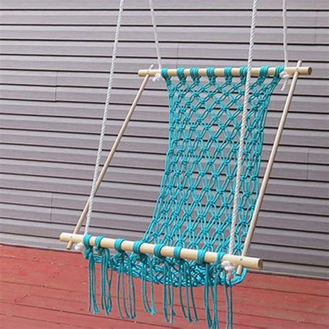 How To Make Your Own Hammock Chair by How To Make A Macrame Hammock Macrame Diy Hammock And