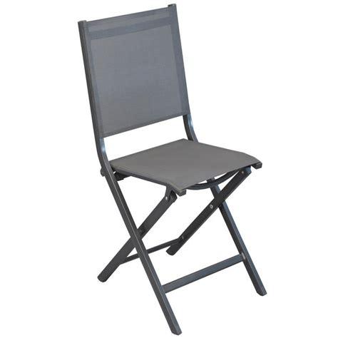chaise de jardin grise chaise de jardin pliante grise de cing et jardin