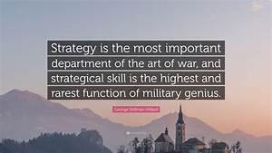 George Stillman... Military Genius Quotes