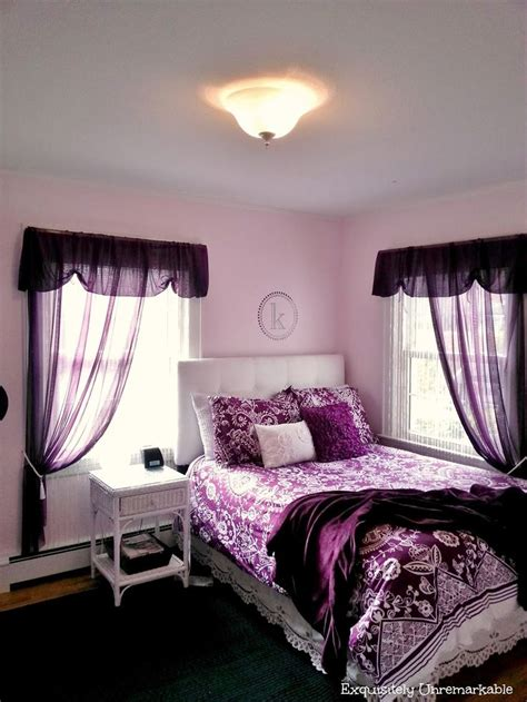 Best 25+ Purple Teen Bedrooms Ideas On Pinterest