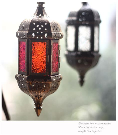moroccan style hanging lantern tea light candle holder lanterns wedding decorations picture more detailed