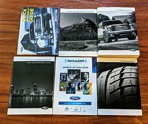 2014 Ford F150 Owners Manual With Case Oem Free Shipping