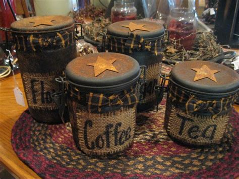 Primitive Easter Decor Canister Set by 17 Best Ideas About Primitive Country Crafts On