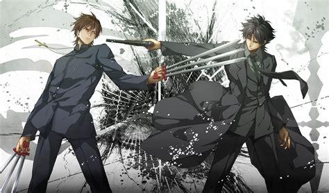 anime fight full wallpaper of the week emiya kiritsugu kotomine kirei