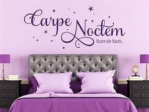 Wandtattoo Carpe Noctem : wandtattoo carpe noctem sterne klebeheld de ~ Sanjose-hotels-ca.com Haus und Dekorationen