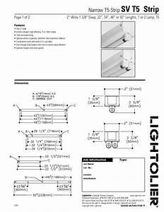 Sv T5 Strip Manuals