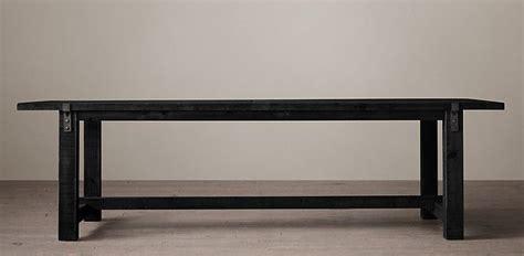 reclaimed dining table reclaimed wood zinc rectangular table