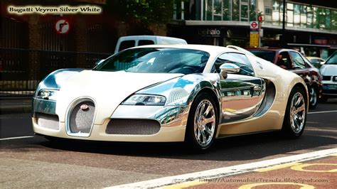 Bugatti has made some of the most coveted cars in history. Automobile Trendz: Bugatti Veyron Silver White