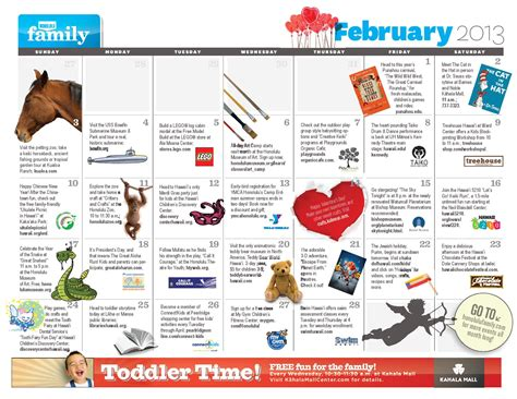 100 calendar fun day for kids 101 things to do in