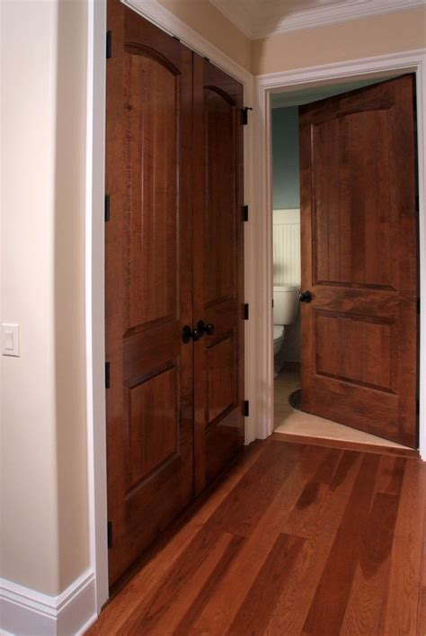 solid maple sante fe 8 ft interior door and closet