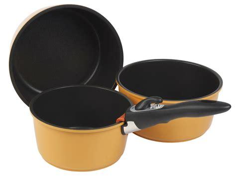 stacking pan stick non saucepan hobs electric pans pots 3pc grunwerg versa pot induction sets cookware gas