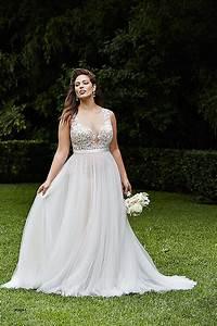 wedding dresses beautiful flattering wedding dresses for With flattering wedding dresses for curvy women