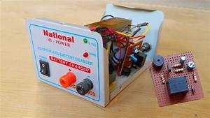 How To Make An Auto Cut Off 12v Battery Charger