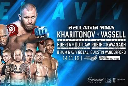 Bellator Results Mma Tv Play Vassell Kharitonov