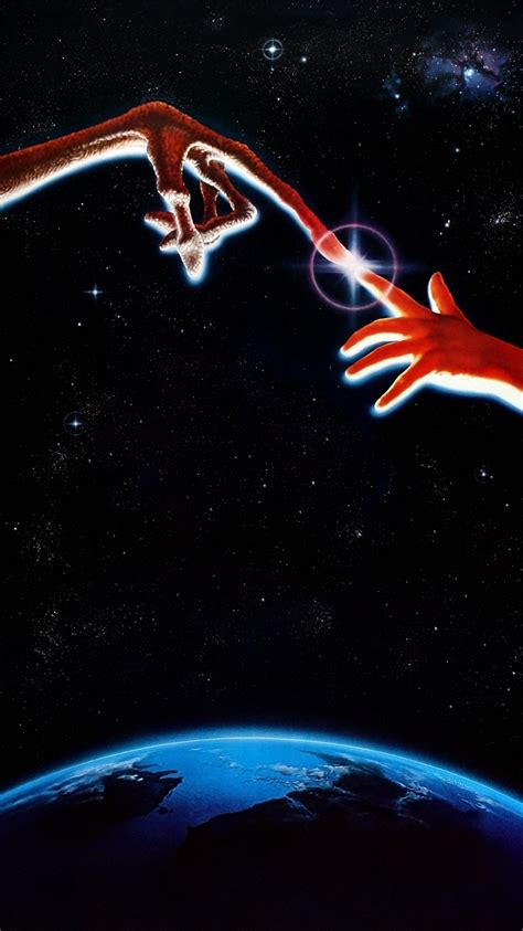 Et The Extraterrestrial (1982) Phone Wallpaper Moviemania