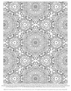 FLORAL OR PAISLEY PATTERNS | Free Printable Adult Coloring ...