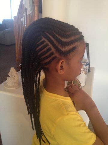 cornrows braids extensions mohawk cornrows kids