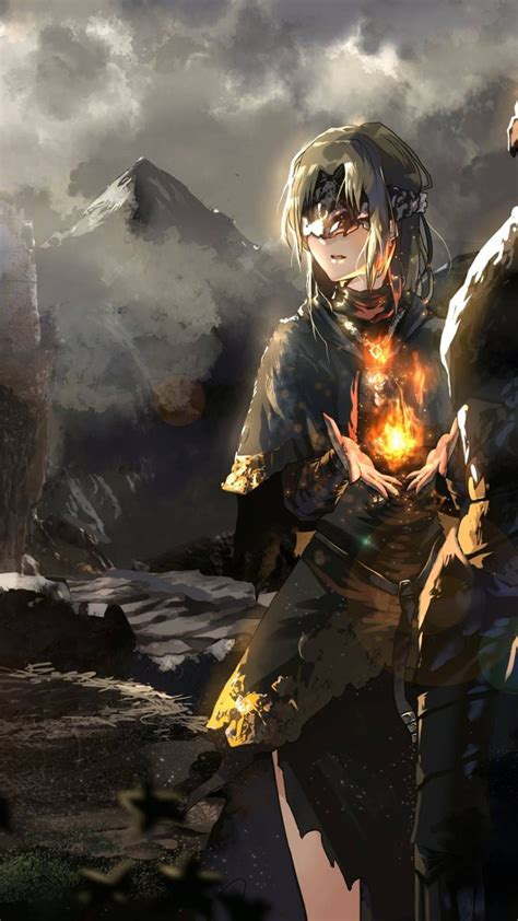 Anime Style Wallpaper - 1080x1920 souls iii keeper